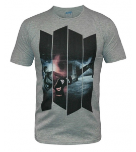 T-SHIRT BAD BOY URBAN KICK GRIS